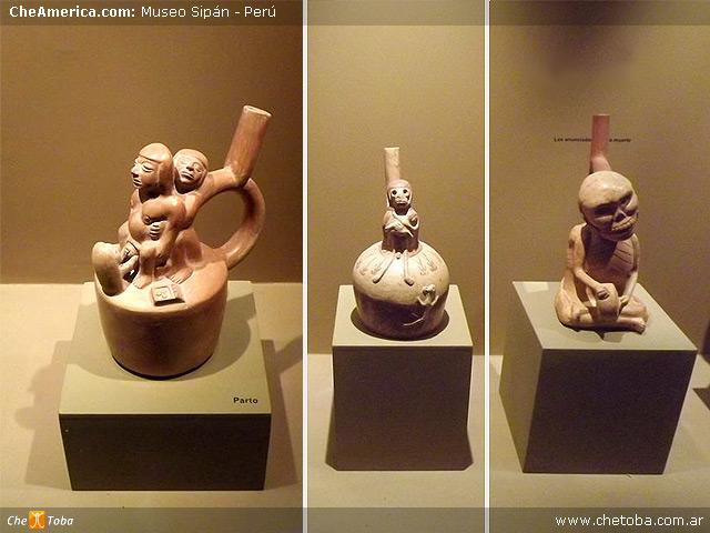 Cerámica Mochica Museo Señor de Sipán