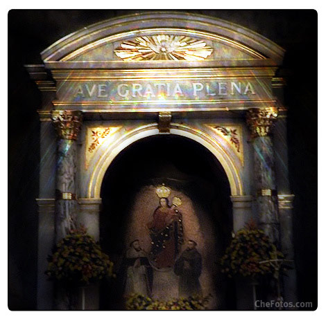 Imagen Altar Virgen de Las Lajas