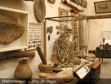 Restos de indígenas Comechingones Museo Rocsen