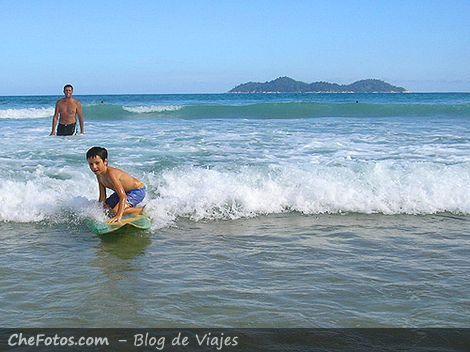 Surfeando la ola, misión cumplida