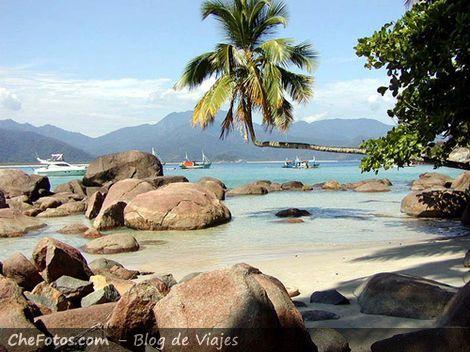 Praia Aventureiro, Postal de Ilha Grande
