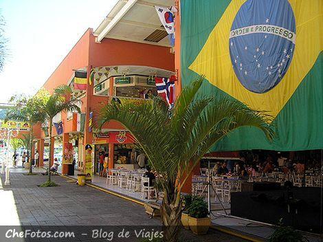 Bandera de Brasil siempre presente