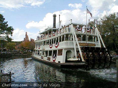 El clásico paseo de barco por el Mississipi