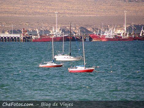 Veleros en Puerto Madryn