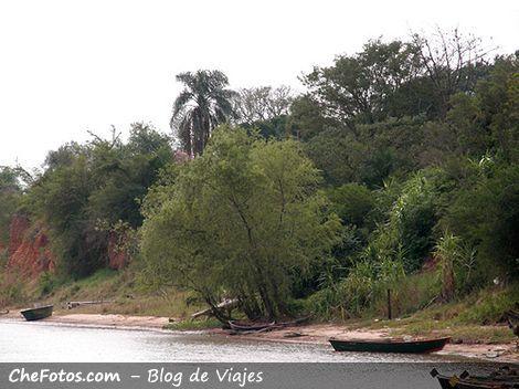Empedrado, barrancas del Paraná
