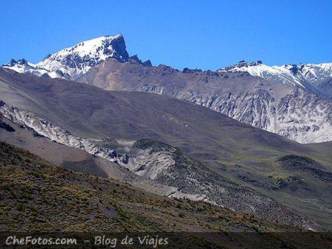 Paisaje de Cordillera de los Andes