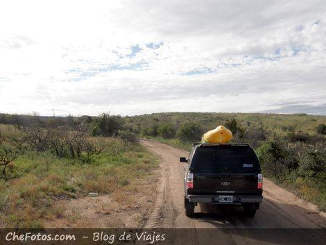 Camino a Las Leoneras - Achiras