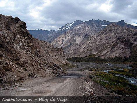 Mendoza, Malargüe, caminos de ripio