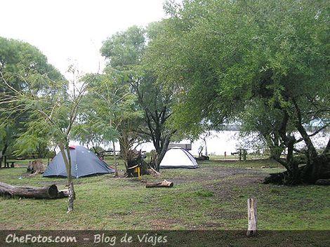 Area carpas en Camping El Palmar