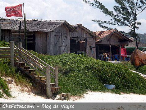 Casa de pescadores - Praia do Rosa
