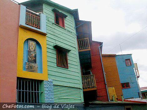 Casas del barrio de La Boca