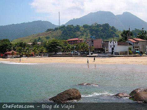 La playa de Conceição de Jacareí