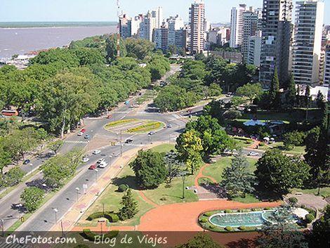 Av. Costanera ciudad de Rosario