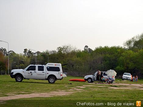 Kayakismo en el lago de Villa María 4