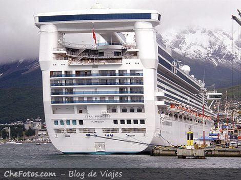 Crucero Star Princess en Ushuaia