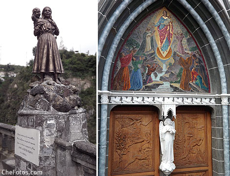 Juana y Rosa El Milagro en Las Lajas