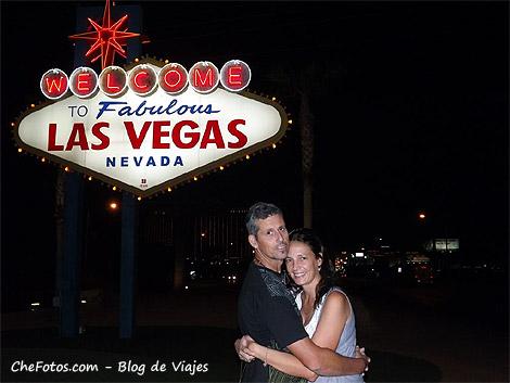El famoso cartel de Las Vegas