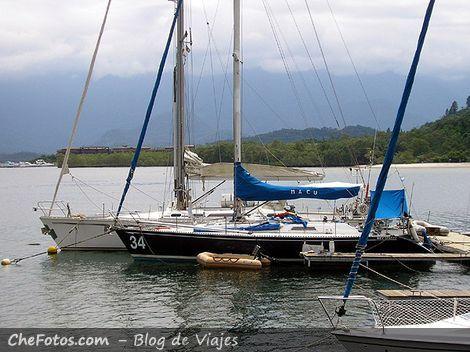 Flota, muelle y oficina de Sailabout