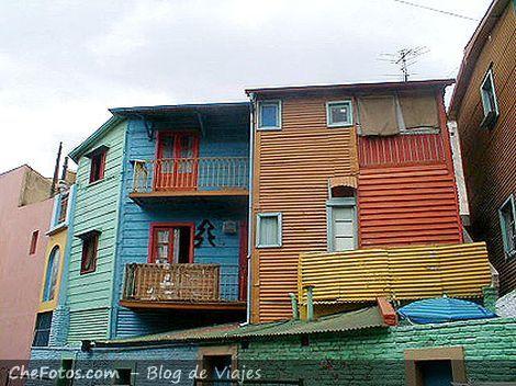 Fotos de la calle Caminito