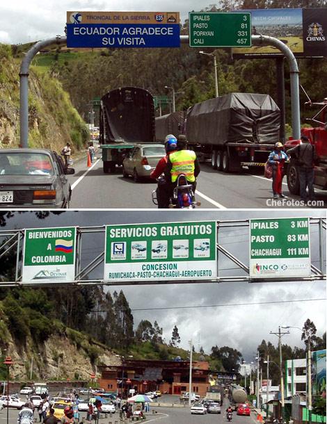 Frontera Ecuador Colombia