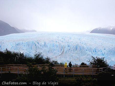 Glaciar Perito Moreno Vista del frente