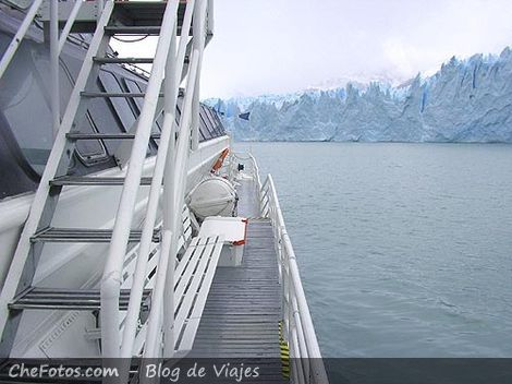 Paseo en catamarán Lago Argentino