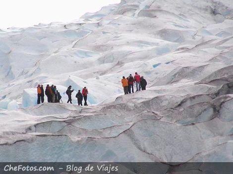 Caminata sobre Glaciar Perito Moreno