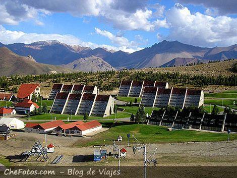Hoteles del centro de Ski Las Leñas