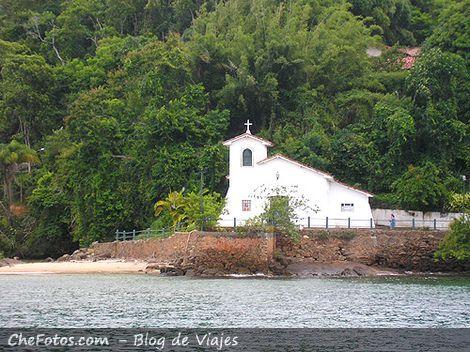 Iglesia en Isla da Gipoia - Angra