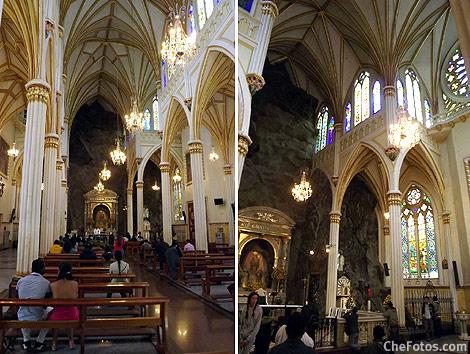 Foto Interior Iglesia Las Lajas