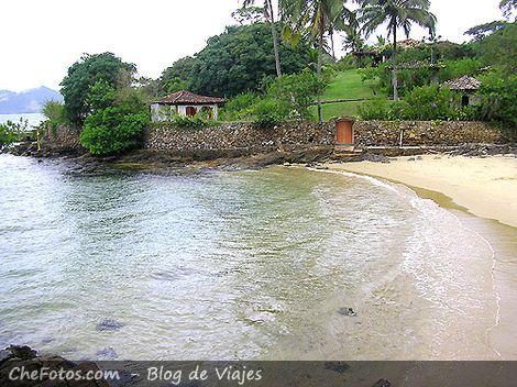 Antigua mansión de Ilha de Caras