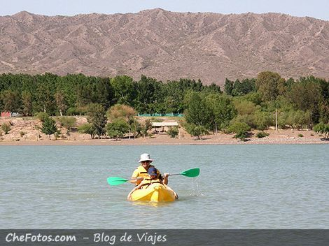 Kayak, deportes Náuticos en Ullum