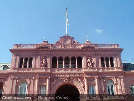 Casa de Gobierno Argentino, La Casa Rosada