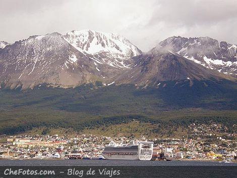 Foto de la Bahía de Ushuaia