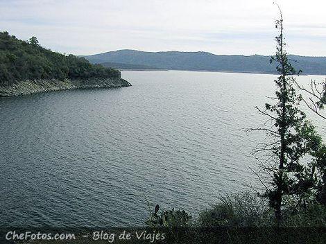 Foto de atardecer en dique La Viña