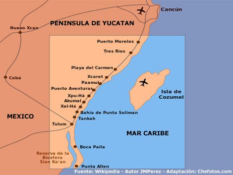Dónde queda Riviera Maya?
