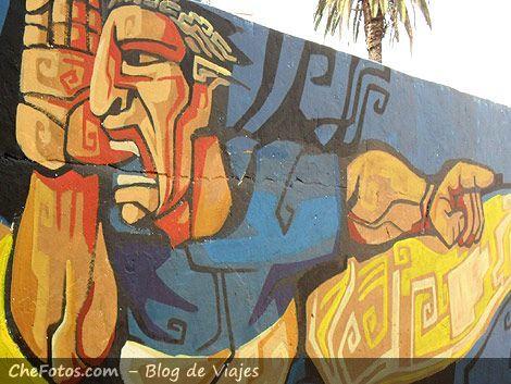 Mural La Boca - Palermo mitológico