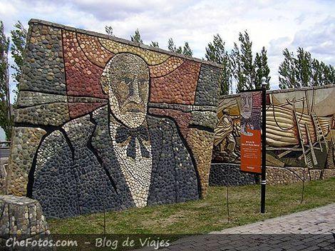 Murales de José Kura en Luis Piedrabuena