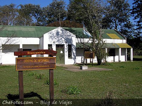 Casa de Guardaparques en Mburucuyá