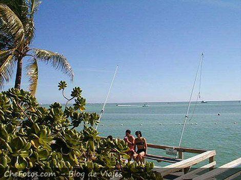Lugar para pescar cerca de Key Largo