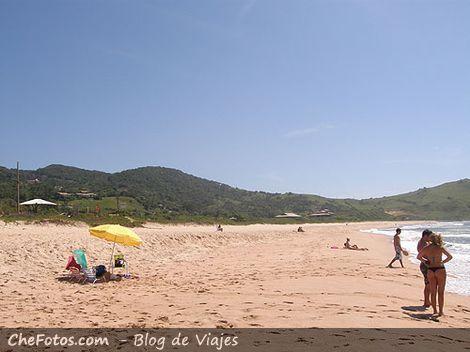 Praia de Silveira - Playa Silveira