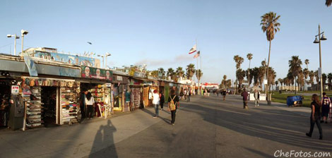 Boardwalk - Playa de Venice - California