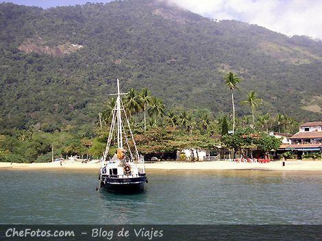 Playa de Abraao, Ilha Grande