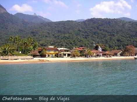 Praia do Abraão centro - Ilha Grande