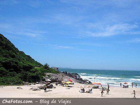 Praia do Siriú, Garopaba, Brasil