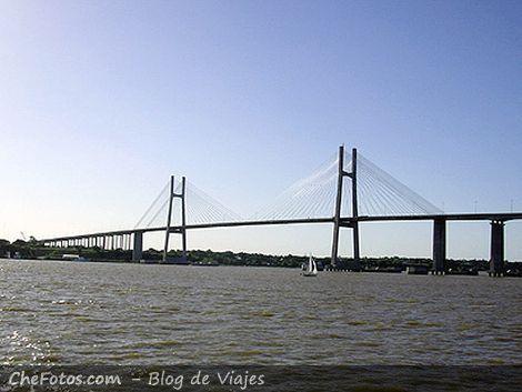 Puente colgante Rosario - Victoria