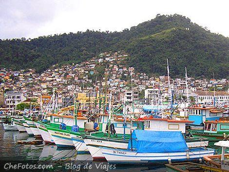 Muelle de pescadores, Angra dos Reis