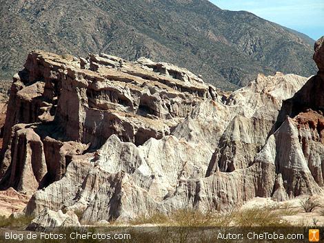 De paso por la Quebrada de las Conchas, Cafayate, Salta