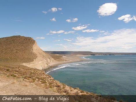 Playas alrededores de Rada Tilly