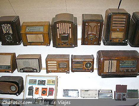 Foto de radios antiguas en Rocsen